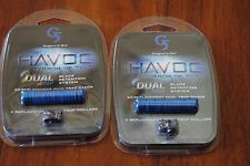 2 packs New Havoc Dual Trap Blade Retention System Replacement Bands & Collars