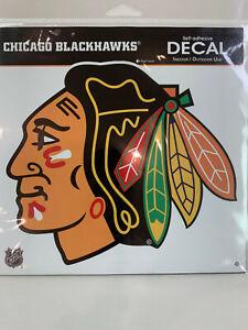 "CHICAGO BLACKHAWKS - 8"" DECAL"
