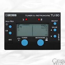 BOSS TU-30 Tuner and Metronome - TU-30