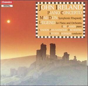 Chandos CD. John Ireland: Piano Concerto: Legend: Mai-Dun. Eric Parkin, piano