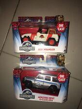 Voiture Miniature 1 43 Jurassic World Jada Toys Die Cast Jeep Wrangler Mercedes