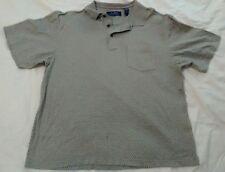 gray blue gray shirt polo , j ashford mercerized, cotton, purple label
