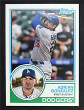 2015 Topps Archives #272 Adrian Gonzalez - NM-MT