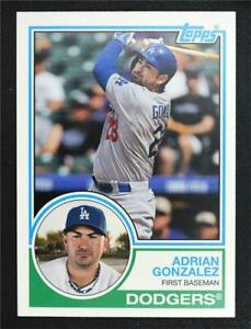 2015 Topps Archives #272 Adrian Gonzalez - NM-MT