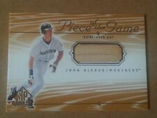 John Olerud 2000 SP Piece of the Game game-used bat card Seattle Mariners