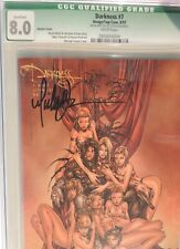 The DARKNESS #7 Variant Cover, 1997. CGC 8.0WP Signed by Michael Turner!  RARE!