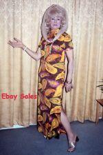 #AP Amateur 35mm Slide-Photo- Older Woman All Dressed Up 1975