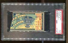 1950 Sugar Bowl Ticket Oklahoma Sooners v LSU Tigers PSA *9957