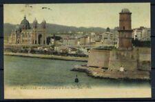 Francia 1906 Mi. Z13 Cartolina 100% Marseille- viaggiata