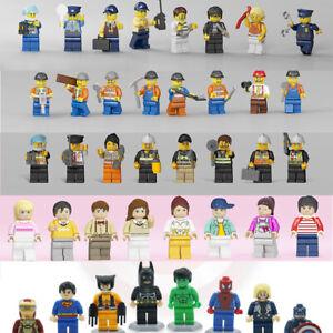 Minecraft Blocks Figuren passen Gebäudecharaktere Lego World Mini My Series Gift