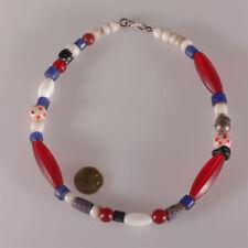 8148 collier de anciensperles en verre Agathe  troc 1880-1960  Bohême Venice