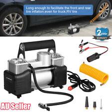 12V Air Compressor Tyre Deflator Inflator 4WD 4x4 Car Truck Portable 150L/MIN AU