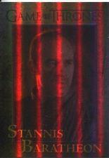 Game Of Thrones Season 3 Foil Parallel Base Card  57 Stannis Baratheon
