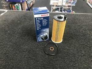 BOSCH OIL FILTER FILTER FIT FOR BMW 520 525 530 320d F10 F11 F30 F15 F16 OE TYPE