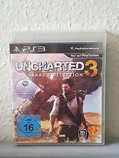 PS3 Spiel UNCHARTED 3 Drake's Deception 3D kompatibel inkl. Handbuch deutsch