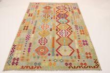 Nomaden Kelim fein Unikat Perser Teppich Orientteppich 2,99  X 2,04