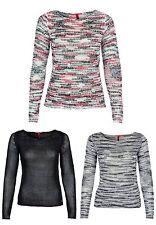 s.Oliver Langarm Damen-Pullover & -Strickware mit Rundhals-Ausschnitt