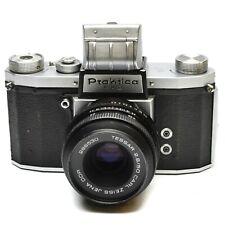 PRAKTICA FX2 CAMERA WITH TESSAR 50 MM F/2.8 LENS c. 1956-58