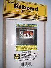 Blair Line Laser Cut Billboard Wall  Style HO  #2435 Bob The Train Guy
