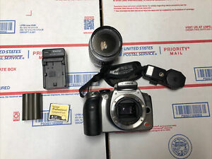 Canon EOS Digital Rebel DS6041 with A Lens Extras Working