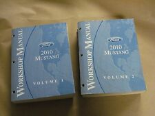 2010 Ford Mustang Workshop Service Manual Volume 1 & 2 Factory Book