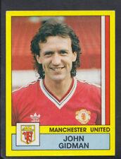 Panini Football 1987 Sticker - No 171 - John Gidman - Manchester United (S867)