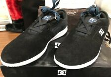 DC Shoes New Jack S Sneakers Black and Blue Suede Brand New in the Box