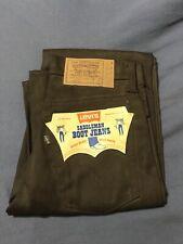 NWT Vintage Big E Levis Deadstock Jeans 1970s Rockabilly Western
