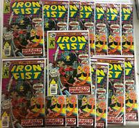 15 Copies of Marvel Comics: Iron Fist #5 - 1st Scimitar - High grades