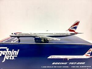 Gemini Jets 1:400 British Airways BOEING 757-200 GJBAW1014
