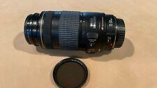 Canon EF 70-300mm f/4-5.6 IS USM Telephoto Zoom Lens + B+W UV & Polar filters