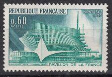 FRANCE TIMBRE NEUF N° 1519  ** PAVILLON FRANCAIS MONTREAL CANADA EXPOSITION