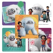 25 Abominable Snowman Stickers Party Favors Teacher Supply Everest Dreamworks