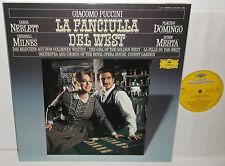 413 285-1 Puccini La Fanciulla Del West Placido Domingo Zubin Mehta 3LP Box Set