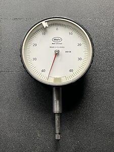 Mahr MarCator 810 SB Feinzeiger ± 40µm 0,01mm, Messuhr