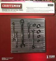 Craftsman 12 inch x 12 inch Magnetic Tool Organization Panel