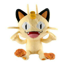 TOMY 8 INCH NEW POKEMON MEOWTH MIAOUSS MAUZI CAT PLUSH STUFFED ANIMAL SOFT TOY