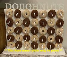 Y92 Donut Beignet Mural MARIAGE Fête Bonbons Candy charrettes gateau transport