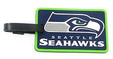 Seattle Seahawks Travel Bag Tag Luggage ID Tag Team Colors NFL