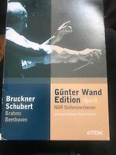 GUNTER WAND EDITION PART 2 BRUCKNER SCHUBERT BRAHMS BEETHOVEN 4x DVD BOX TDK