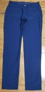 Under Armour Men's UA Vanish Tapered Golf Pants Navy Blue 1309645-408 Size 36x36
