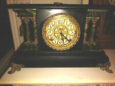 Antique 8 Day Elias Ingraham Adrian Mantle Clock