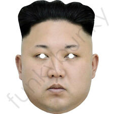 Kim Jong-un - Celebrity Fun Card Mask - All Our Masks Are Pre-Cut***