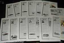 1963-65 RAMBLER advertisements x13, Ambassador, American etc  American Motors
