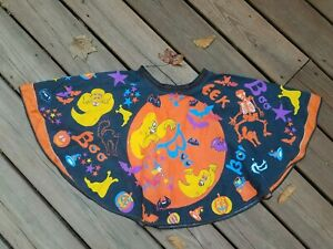 Vintage HALLOWEEN Costume Skirt FABRIC PANEL Moon Witch  MANES CORP. Completed