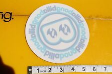 Billabong B Window Circle Clear Sticker Vintage Surfing Decal STICKER Sheet