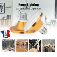 AC 220V E27 SMD5730 Lampe à LED Économie d'énergie UFO plat Ampoule Éclairage