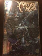 Justice League #1 Jim Lee Silver Foil Batman 2018 SDCC Exclusive