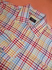 PAUL & SHARK YACHTING MEN LARGE L MULTI-COLOR Long Sleeve EXCELLENT ITALY