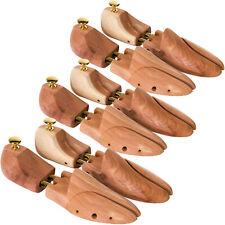 3 Paires Qualité Embauchoirs Bois de Cèdre Réglable Chaussures Femme Homme neuf